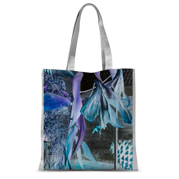 Opal Iris Classic Sublimation Tote Bag - seed