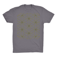 Sacred Perception Series Organic Adult T-Shirt - seed