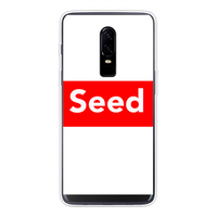 seed Back Printed Transparent Soft Phone Case - seed