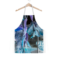 Opal Iris Classic Sublimation Adult Apron - seed