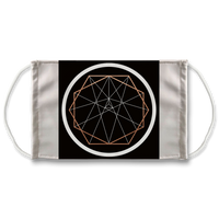 Sacred Geometry Series Sublimation Face Mask - seed