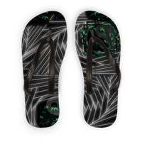 Sacred Crystal Collection Adult Flip Flops - seed