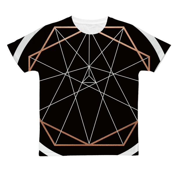 Sacred Geometry Series Classic Sublimation Adult T-Shirt - seed