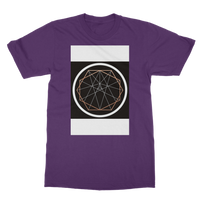 Sacred Geometry Series Classic Heavy Cotton Adult T-Shirt - seed