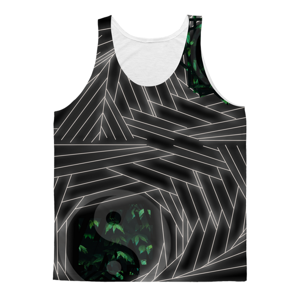 Sacred Crystal Collection Classic Sublimation Adult Tank Top - seed
