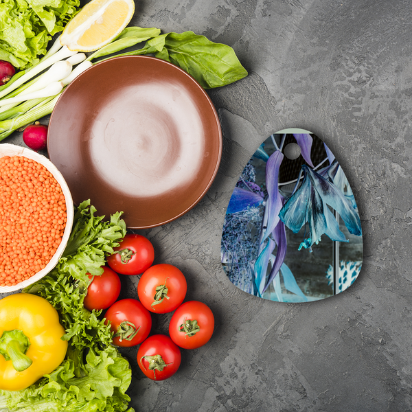 Opal Iris Sublimation Glass Cutting Board - seed