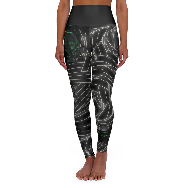 High Waisted Yoga Leggings - seed
