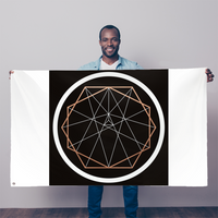 Sacred Geometry Series Sublimation Flag - seed
