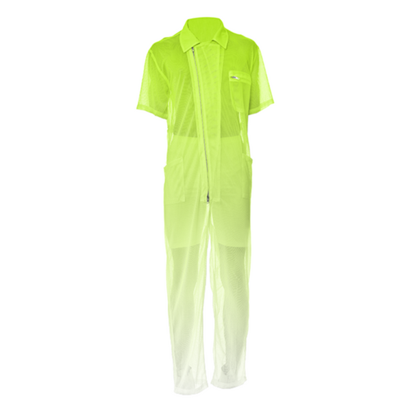 Neon Yellow | Mesh Suit - seed
