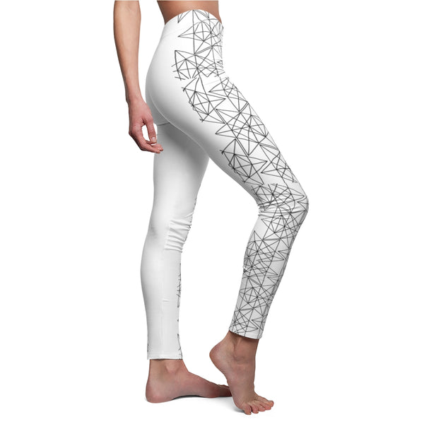 Sacred Geometry Women's Cut & Sew Casual Leggings - seed