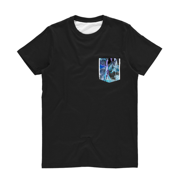 Opal Iris Classic Sublimation Pocket T-Shirt - seed