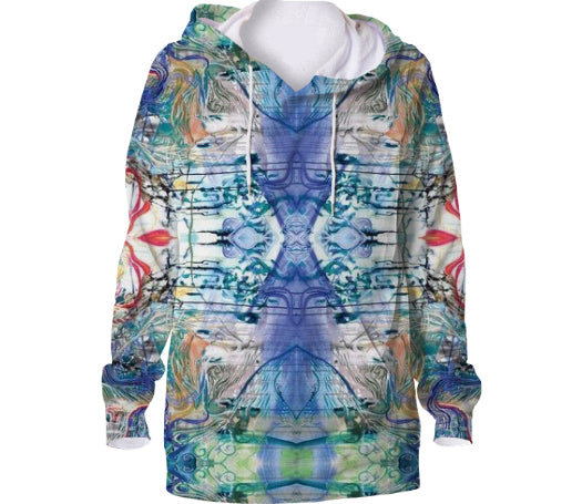 Hoodie  All Over Print  Third Eye Unisex - seed