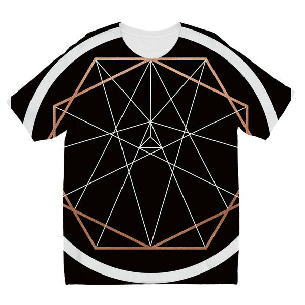 Sacred Geometry Series Sublimation Kids T-Shirt - seed