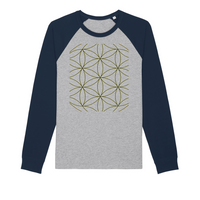 Sacred Perception Series Organic Raglan Long Sleeve Shirt - seed