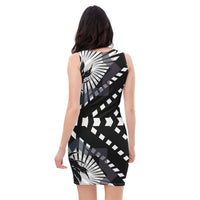 Palm Sublimation Cut & Sew Dress - seed