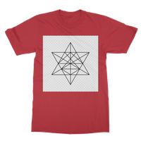 Tetrahedron Series Classic Adult T-Shirt - seed