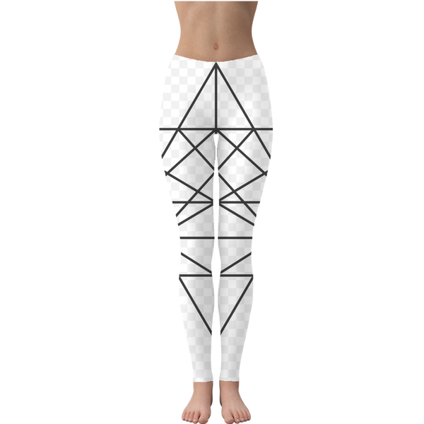 Tetrahedron Series Leggings - seed
