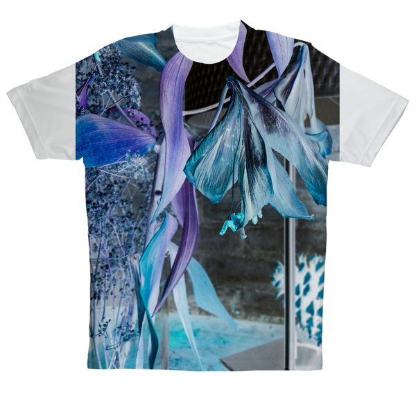 Opal Iris Sublimation Performance Adult T-Shirt - seed