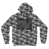 Sacred Crystal Collection Camouflage Adult Hoodie - seed