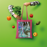 Opal Iris Shopper Tote Bag - seed