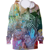 Hoodie All Over Print Crystal Intuition Unisex - seed
