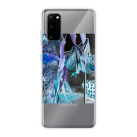 Opal Iris Back Printed Transparent Soft Phone Case - seed