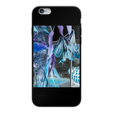 Opal Iris Back Printed Black Soft Phone Case - seed