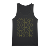 Sacred Perception Series Organic Jersey Unisex Tank Top - seed