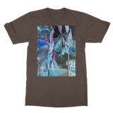Opal Iris Classic Adult T-Shirt Printed in UK - seed