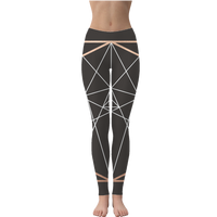 Sacred Geometry Series Leggings - seed