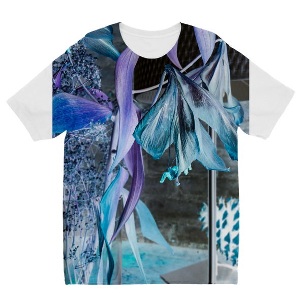 Opal Iris Sublimation Kids T-Shirt - seed