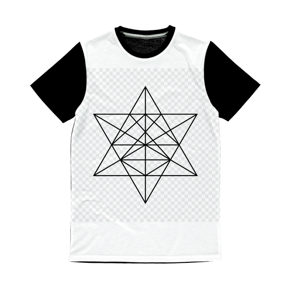 Tetrahedron Series Classic Sublimation Panel T-Shirt - seed