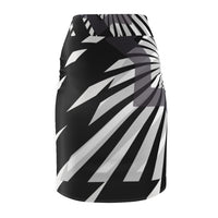 Palm Dreams Women's Pencil Skirt - seed