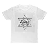 Tetrahedron Series Classic Sublimation Adult T-Shirt - seed