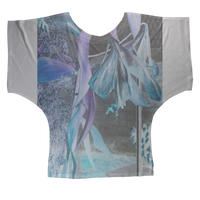 Opal Iris Sublimation Batwing Top - seed