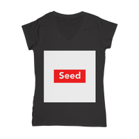 seed Classic Women's V-Neck T-Shirt - seed