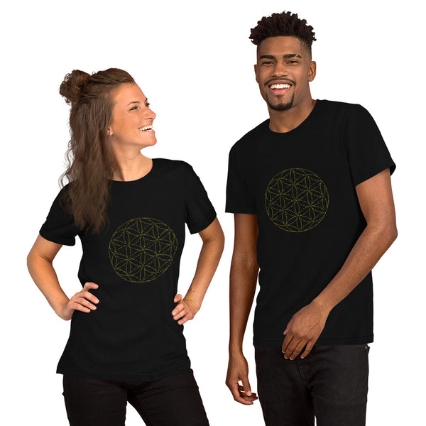 Seed of Life Short-Sleeve Unisex T-Shirt - seed