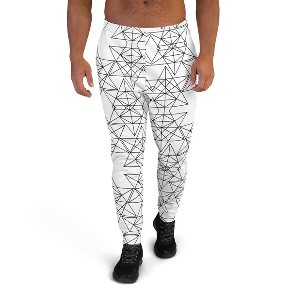 Festival Tetra Men's Joggers Geometrical Sweatpants - seed