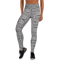 From Outer space yoga leggings named Visceral - seed