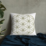 The Flower of Life Pillow - seed