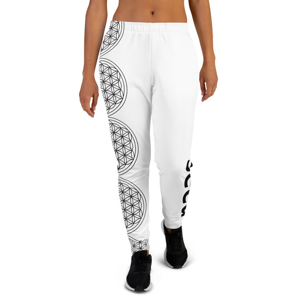 Festival Sacred Geometry Women's Joggers | Softest Sweatpants in the World - seed