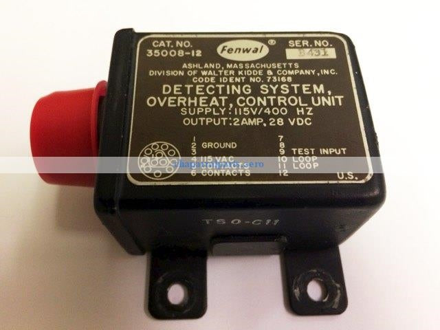 35008-12 overheat control Westwind AS REMOVED