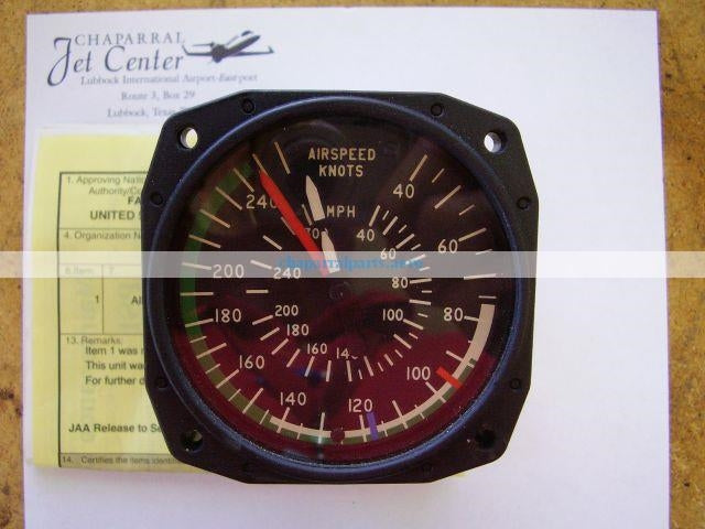548-022 airspeed indicator Piper Aircraft