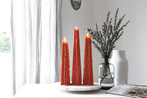 Living Light Granite Icicle Candles