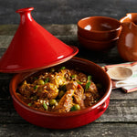 Tagine - Traditional Spanish Terracotta 27cm (Base & Top)