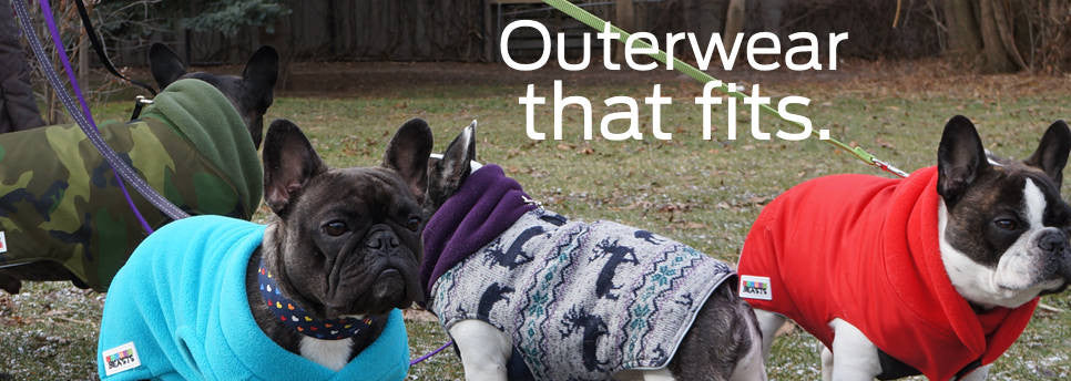 French Bulldog and Pug Winter Coats and Sweaters