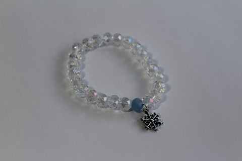 Snow Clear Winter Bracelet