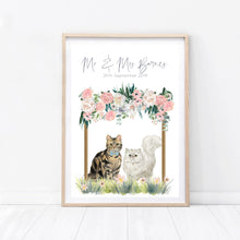 Load image into Gallery viewer, Wedding Cat Print - Wildfig & Co