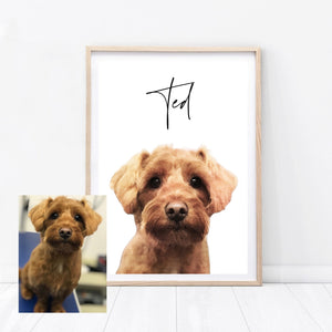 Custom Dog Print - Wildfig & Co