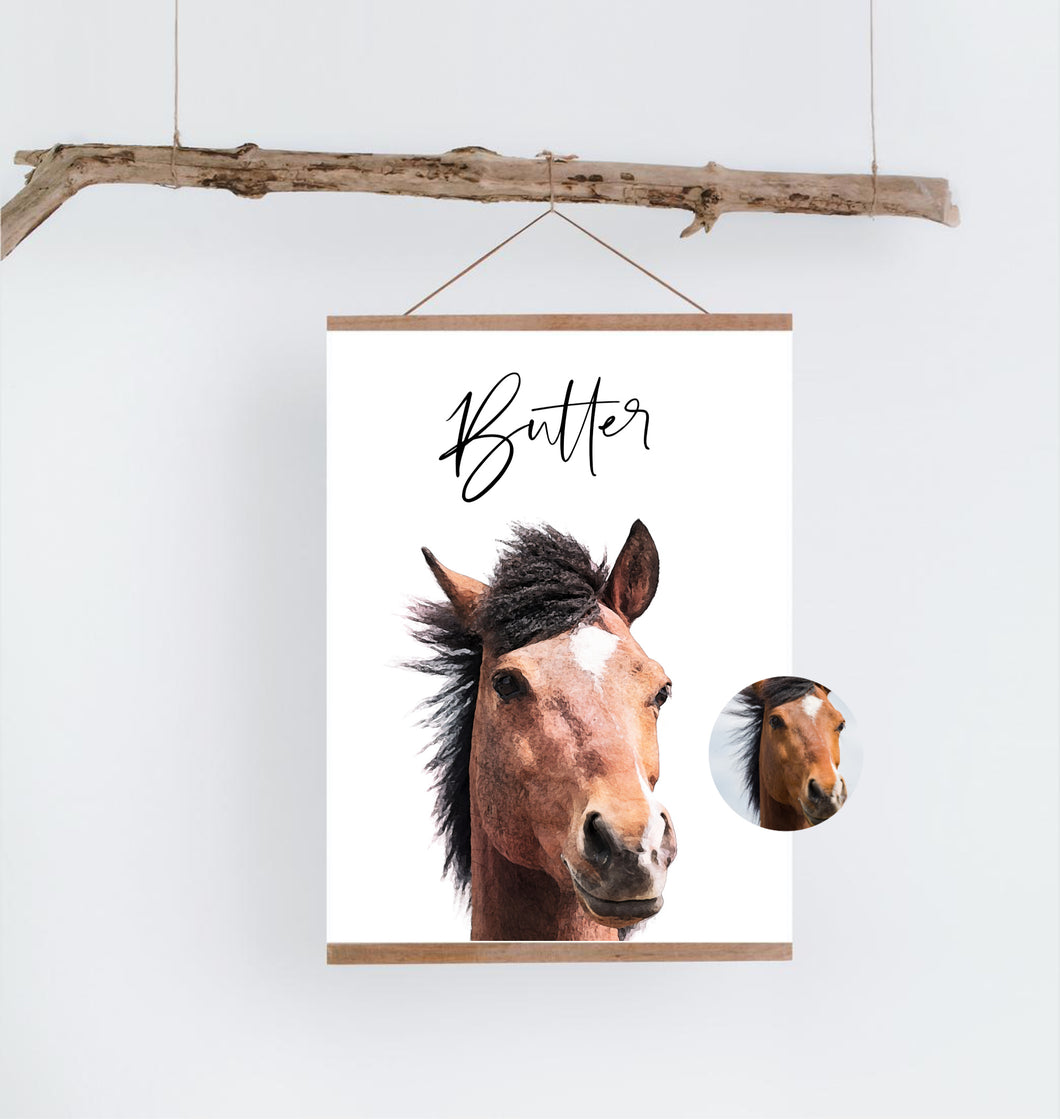 Custom Horse Print - Wildfig & Co